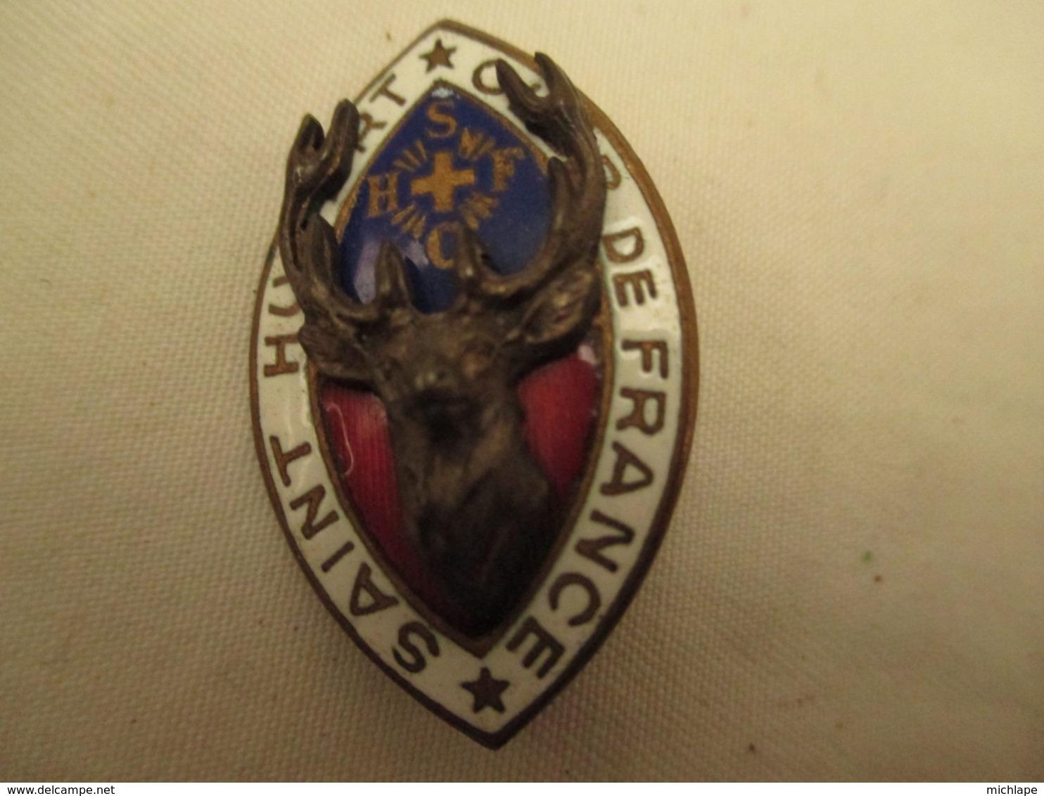 Medaille -   St Hubert  - Ordre  De France - Frankreich