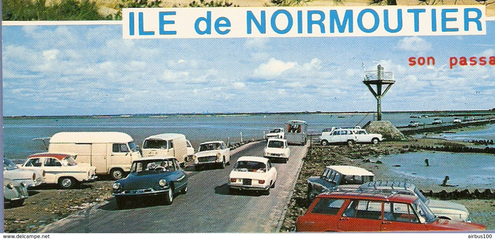 85 - ÎLE De NOIRMOUTIER - Estafette Renault - Citroën DS Ami 6 - Alfa Roméo - Simca P60 - Renault Estafette - Passenger Cars