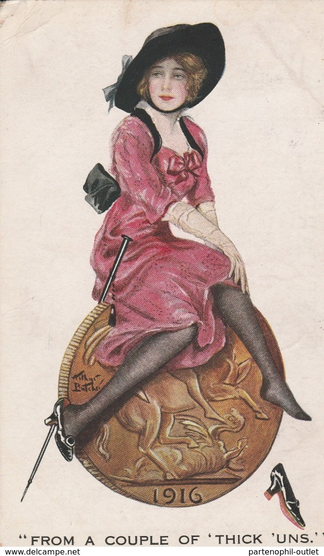 Cartolina  - Postcard /   Viaggiata - Sent/   Donnina - Donne