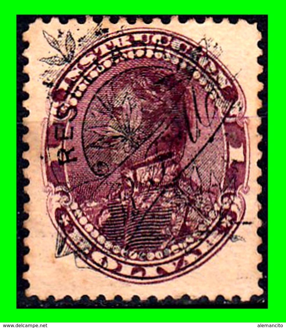 "VENEZUELA SELLOS AÑO 1893 REPUBLICA DE VENEZUELA: ""  SIMON BOLIVAR  "" - Venezuela"