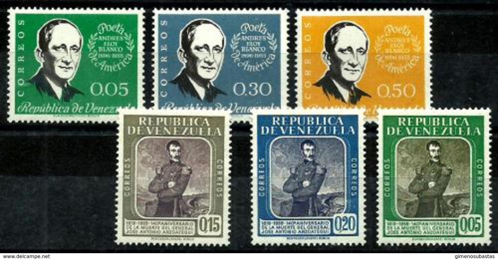 Venezuela Nº 609/11-628/30 En Nuevo - Venezuela