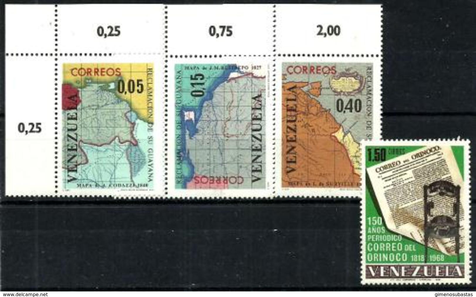 Venezuela Nº 728/30-757 En Nuevo - Venezuela