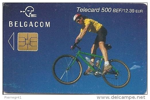 CARTE-PUCE-BELGIQUE-SPORT-Be82-2003-VELO VTT-TBE - Sport