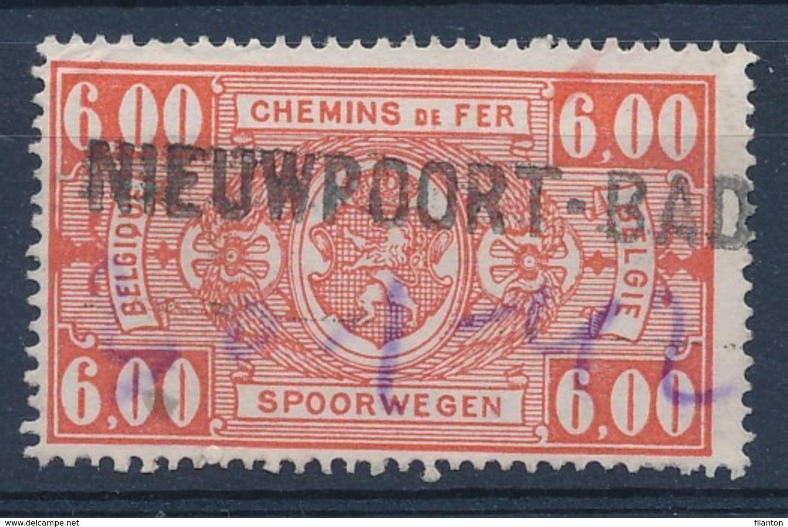 """TR 251 - Griffe """"NIEUWPOORT-BAD"""" - Date Manuscrite/geschreven Datum - (ref. 29.724) - 1923-1941"""