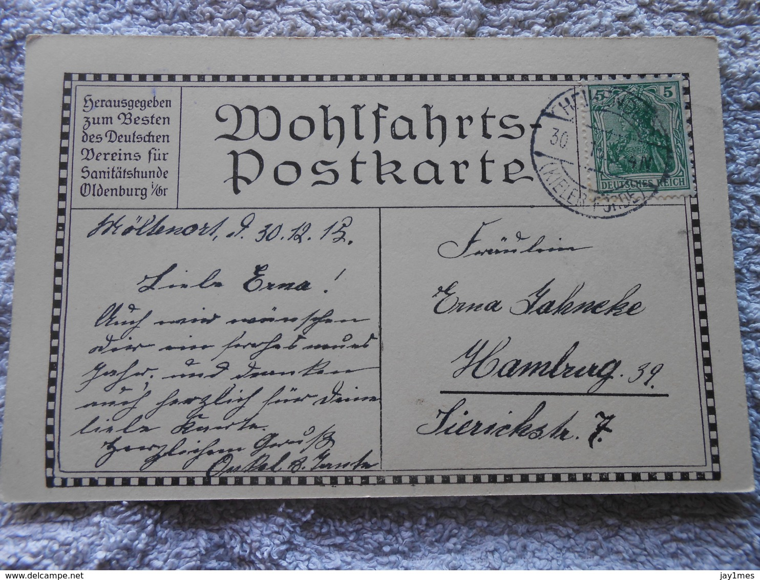 Cpa Guerre 14-18 Wk1 Ww1 Caricature Humour Propagande Patiotisme Deutschland Feldpost - Oorlog 1914-18