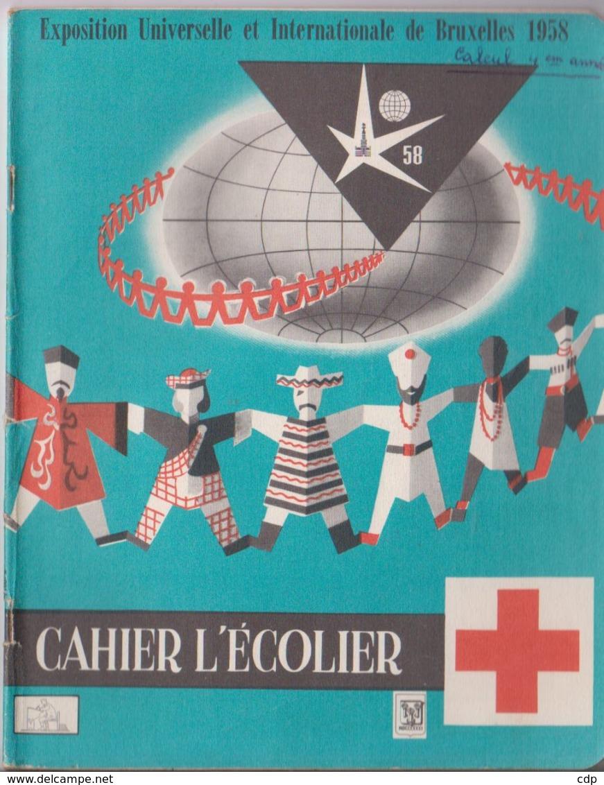 Cahier Expo 58 Croix Rouge - Seizoenen En Feesten
