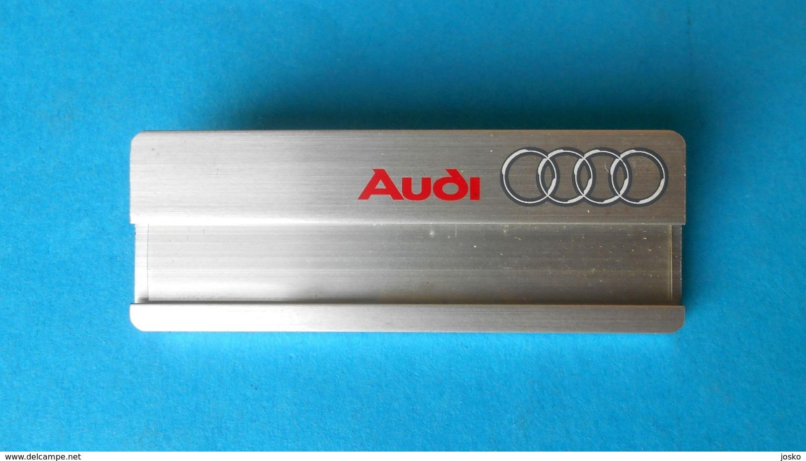 AUDI - Large Official Breast Badge * Germany Car Automobile Auto Automobil Anstecknadel Abzeichen Deutschland Spilla - Badges