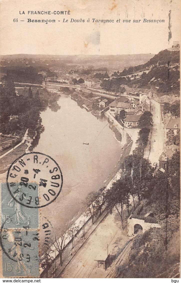 Besançon (25) - Le Doubs à Taragnoz Et Vue Sur Besançon - Besancon