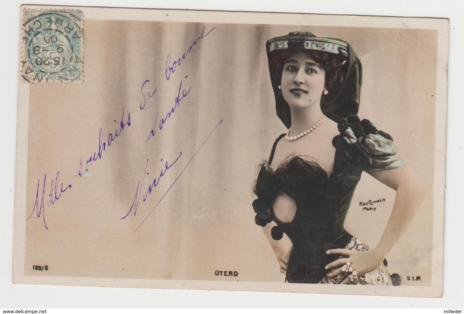 BA142 - FEMME FRAU LADY - Reutlinger Paris - OTERO - Femmes
