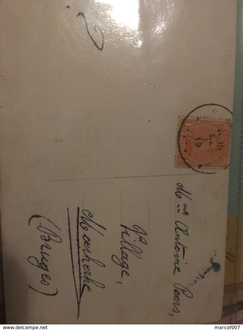 Numéro 135 Sur Cp Fantaisie 1919 - 1915-1920 Albert I
