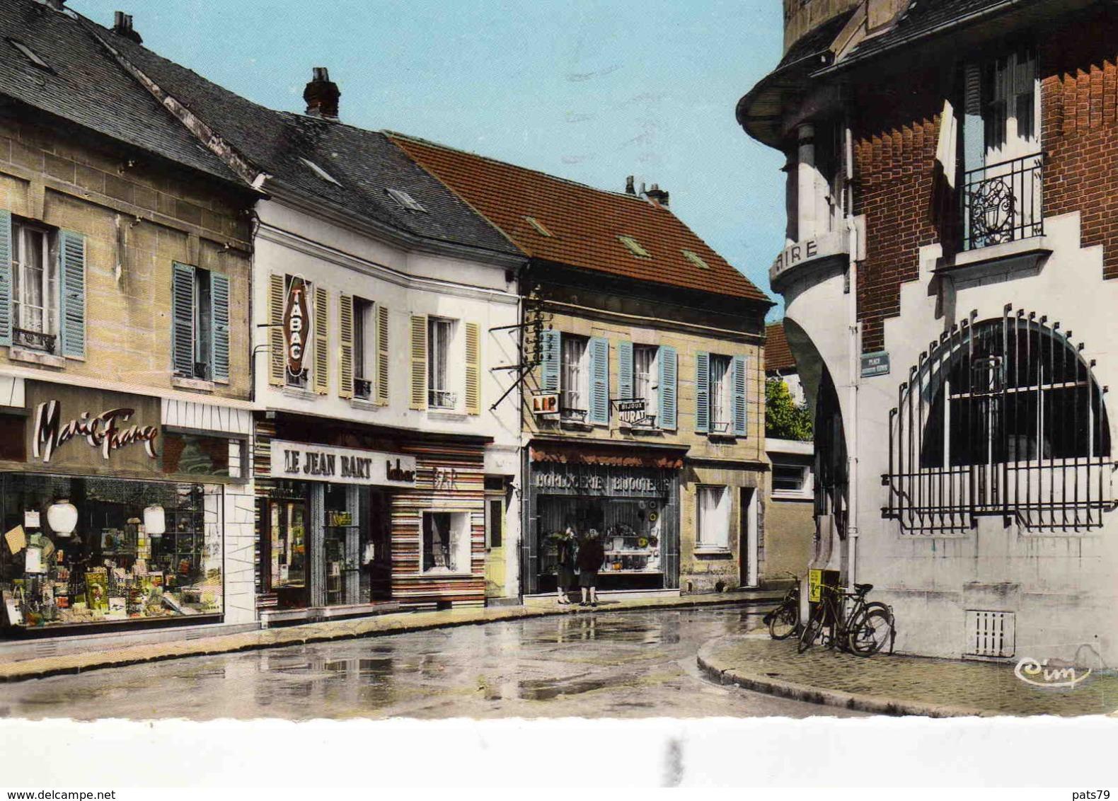 MONTATAIRE  - Rue Jean-Jaurés Et La Poste - Other Municipalities