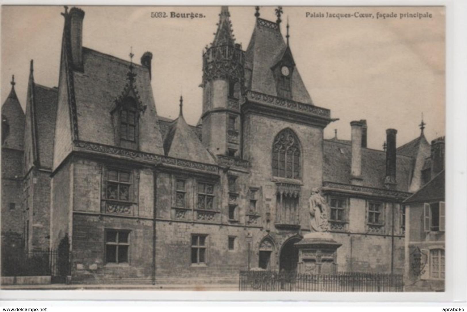 N° 5032 Palais Jacques-Cœur, Façade Principale - Bourges