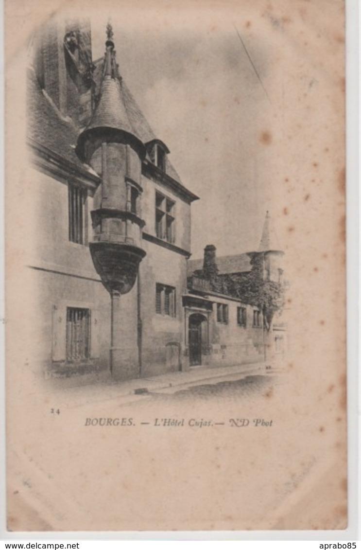 N°24 L'Hôtel Cujas - Bourges