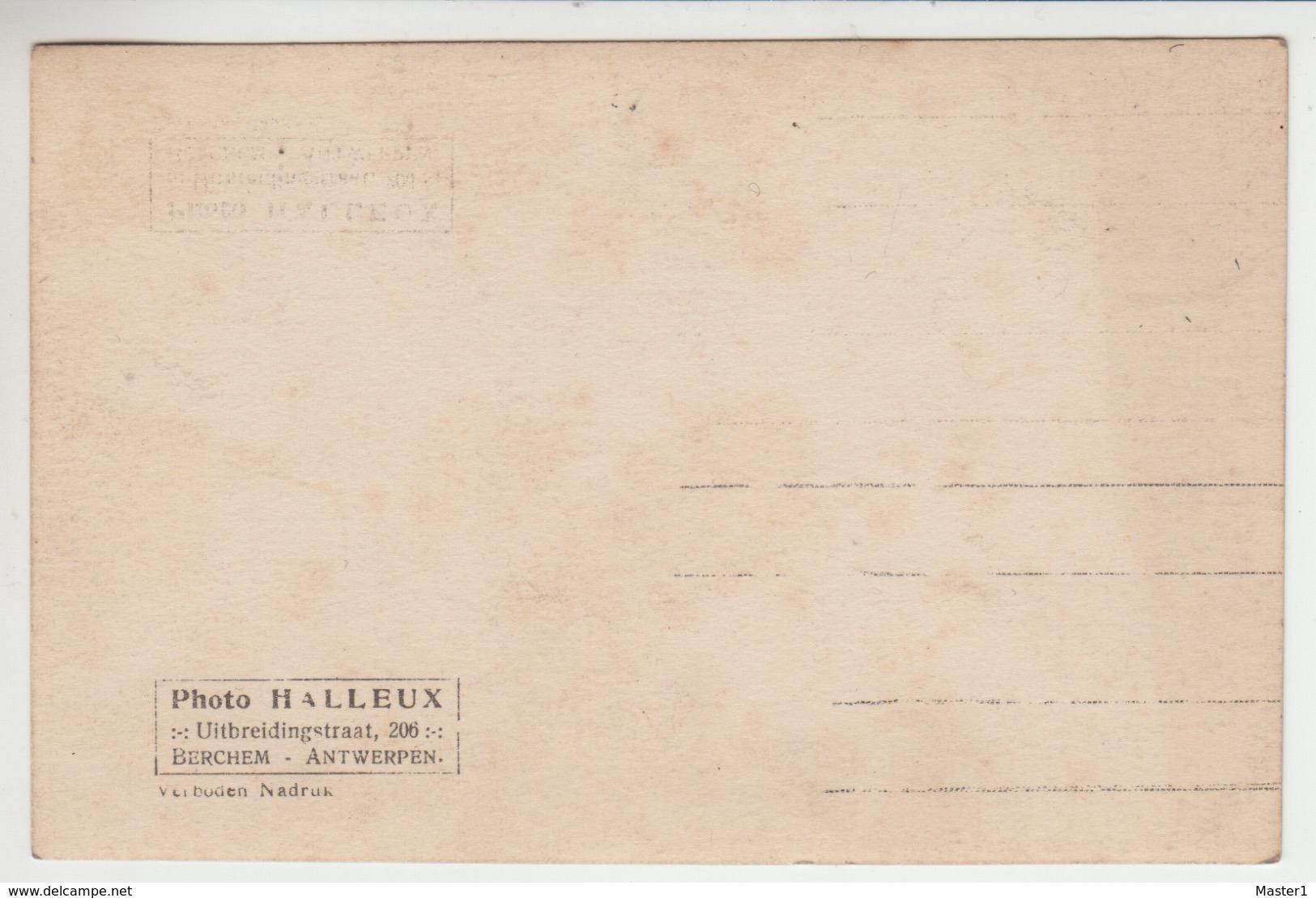 PHOTO CARD BOXING BOKSEN LA BOXE / BRUXELLES 1926 / PIET HOBIN Antwerpen X LEO DARTON Charleroi 15/4/1926, Photo Halleux - Boxe