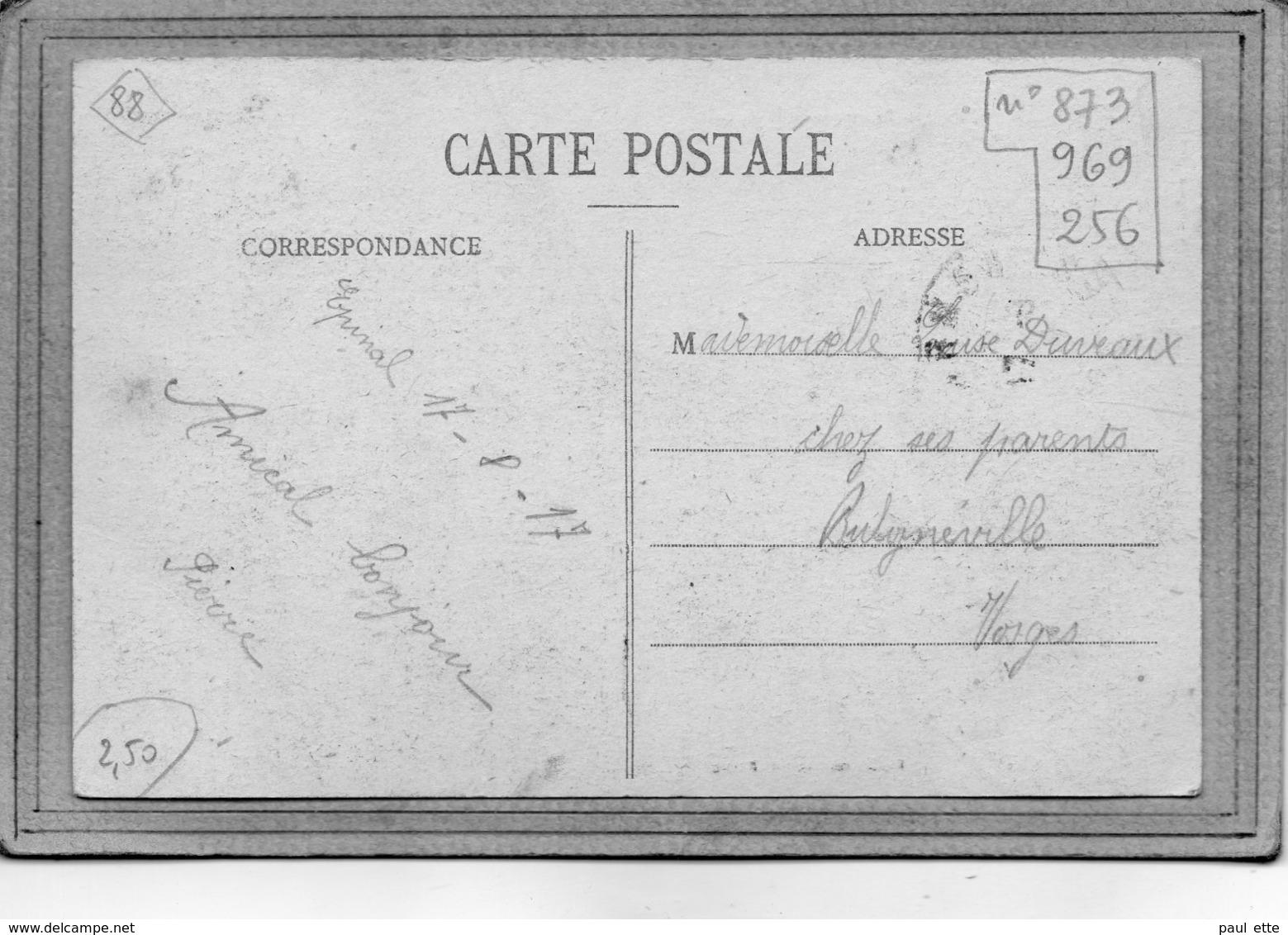 CPA - EPINAL (88) - Mots Clés: Hôpital: Auxiliaire, Complémentaire, Mixte, Militaire, Temporaire En 1917 - Epinal