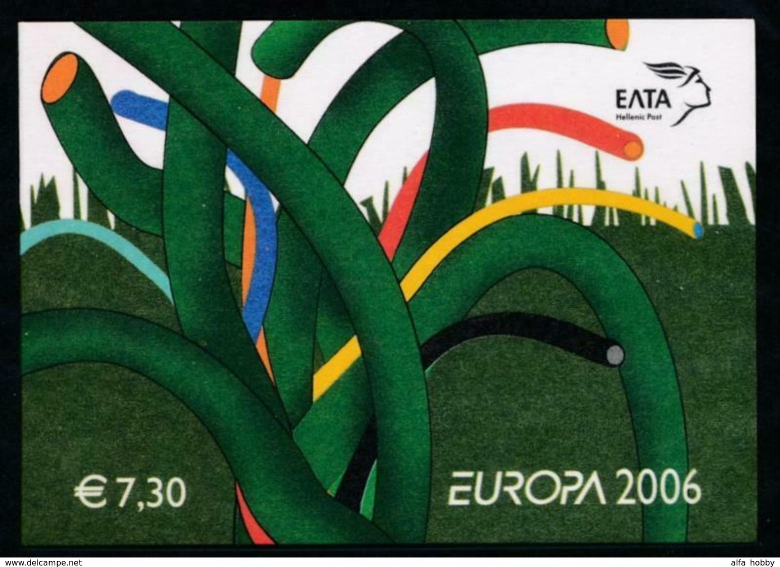 Grrece, 2006, Europe, Europa Integration, Booklet - 2006