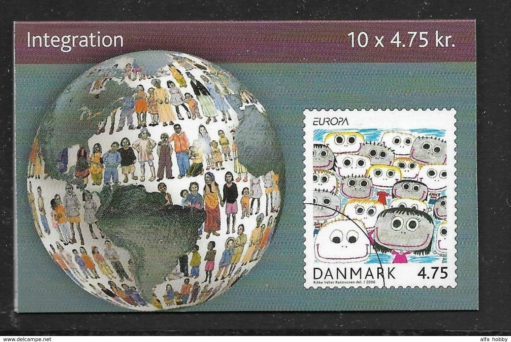 Denmark , 2006, Europe, Europa Integration, Booklet - 2006