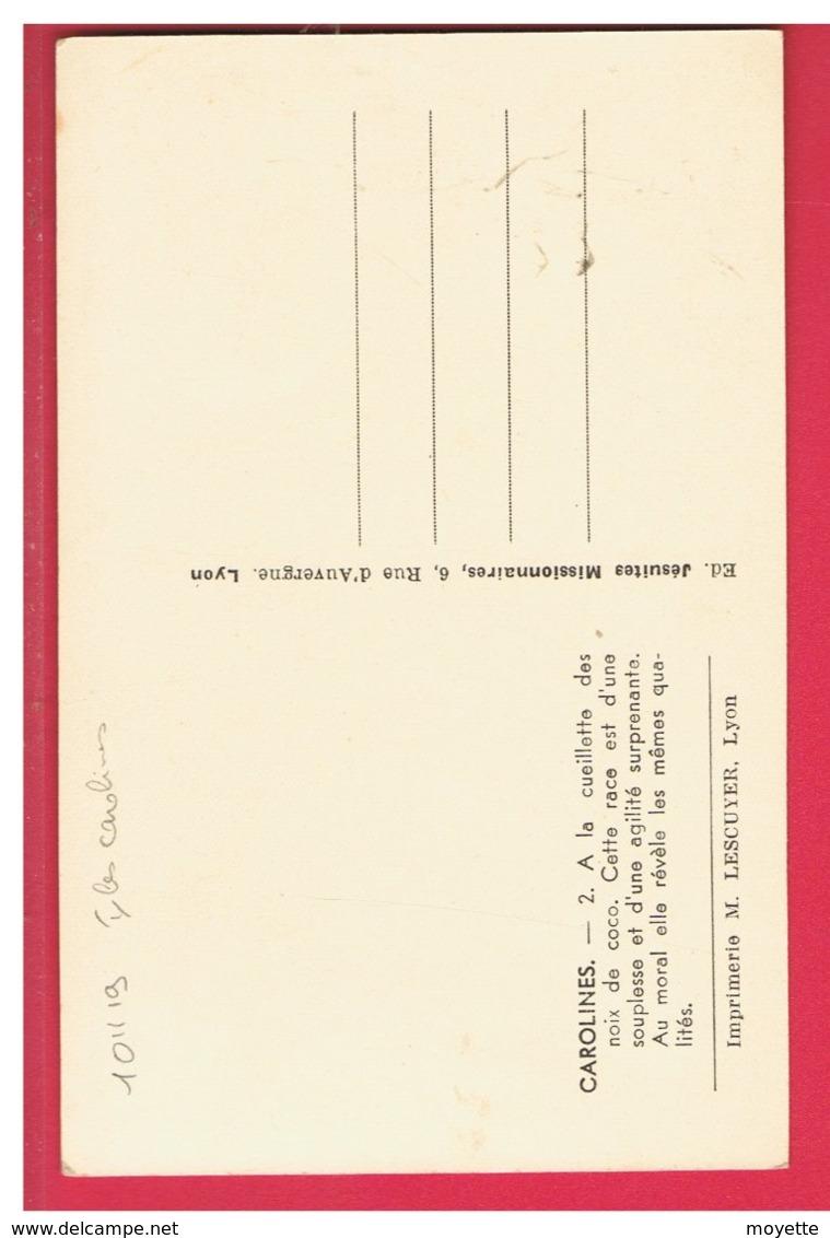 CPA-CAROLINES-A LA CUEILLETTE DES NOIX DE COCO- - Postkaarten