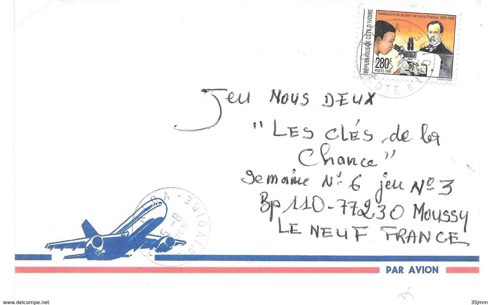 Cote D'ivoire Pasteur Louis - Louis Pasteur