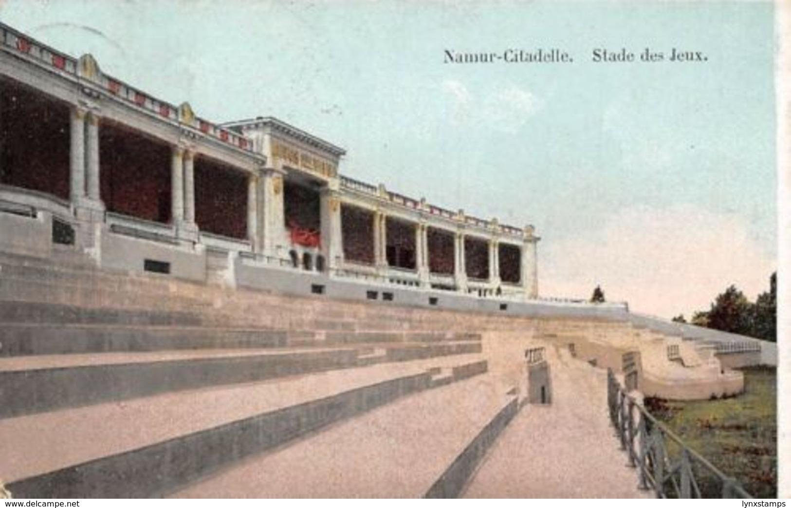 Belgium Namur-Citadelle Stade Des Jeux 1913 - Belgique