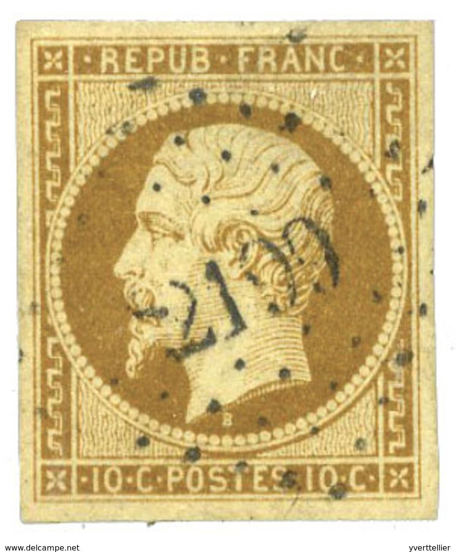 France  : N°9 Obl. TB - France