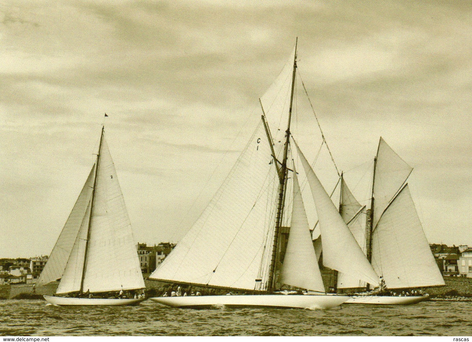 CPM - N - ANTIBES - VOILIER - VOILIERS HALLOWEEN - MARIQUITA - ALTAIR - Sailing Vessels