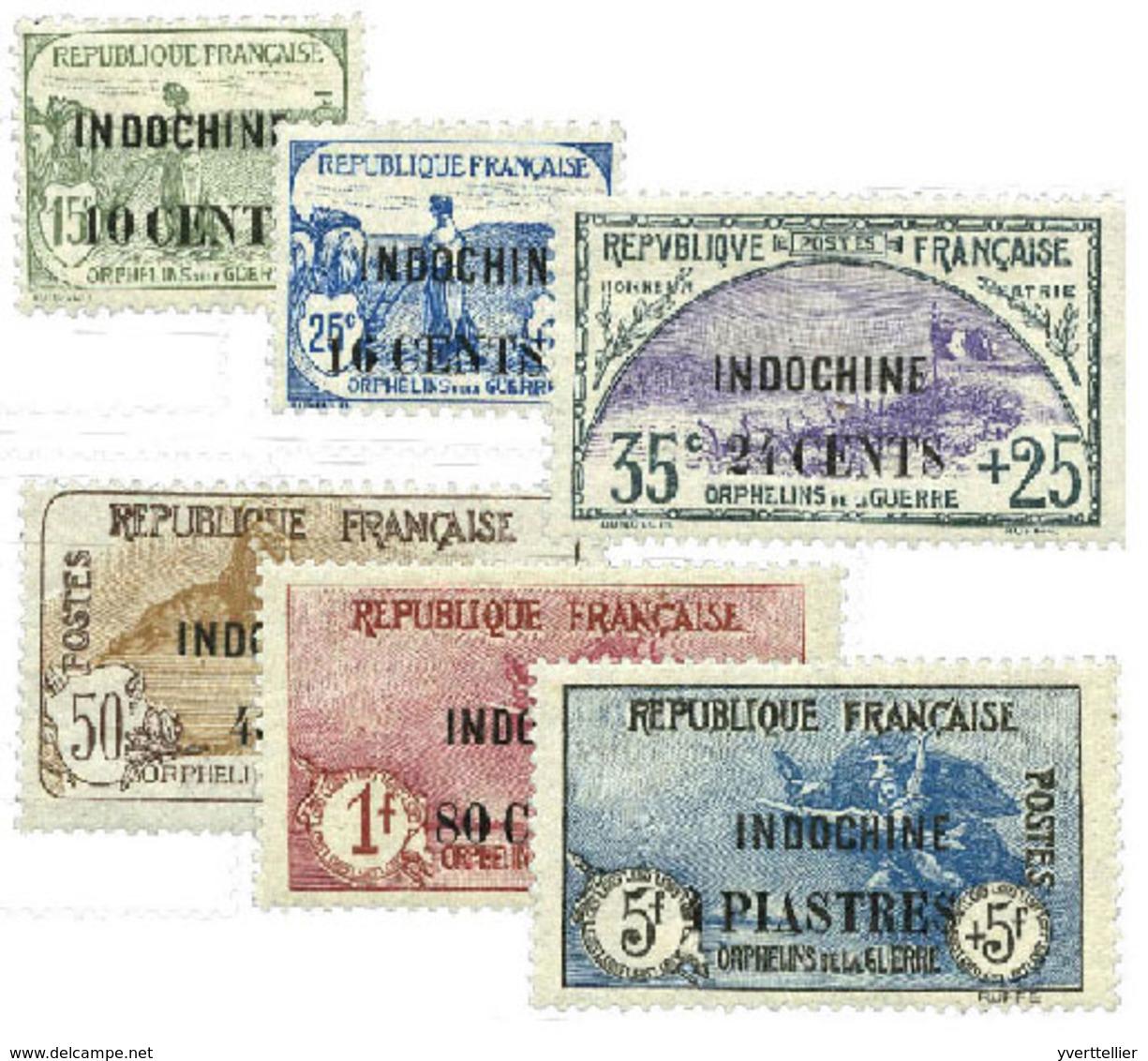 Indochine : N°90/95 - Indochina (1889-1945)