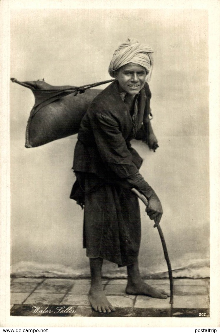 Egypte -WATER SELLER - Asuán