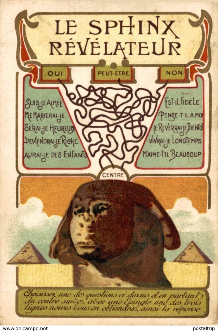 LE SPHINX REVELATEUR  Egypt EGYPTE - EGYPT - Egipto