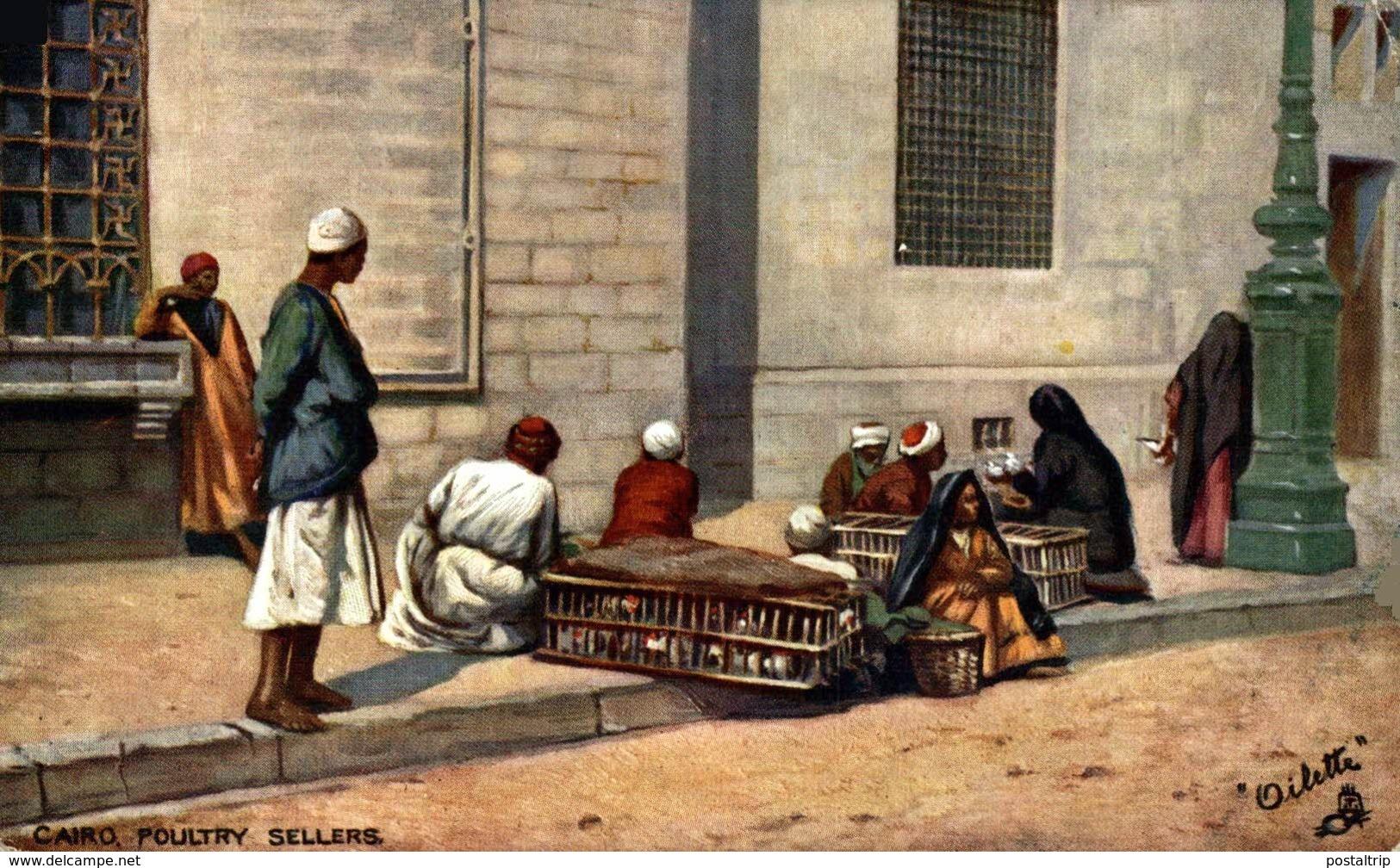 CAIRO POULTRY SELLERS Egypt EGYPTE - EGYPT - El Cairo
