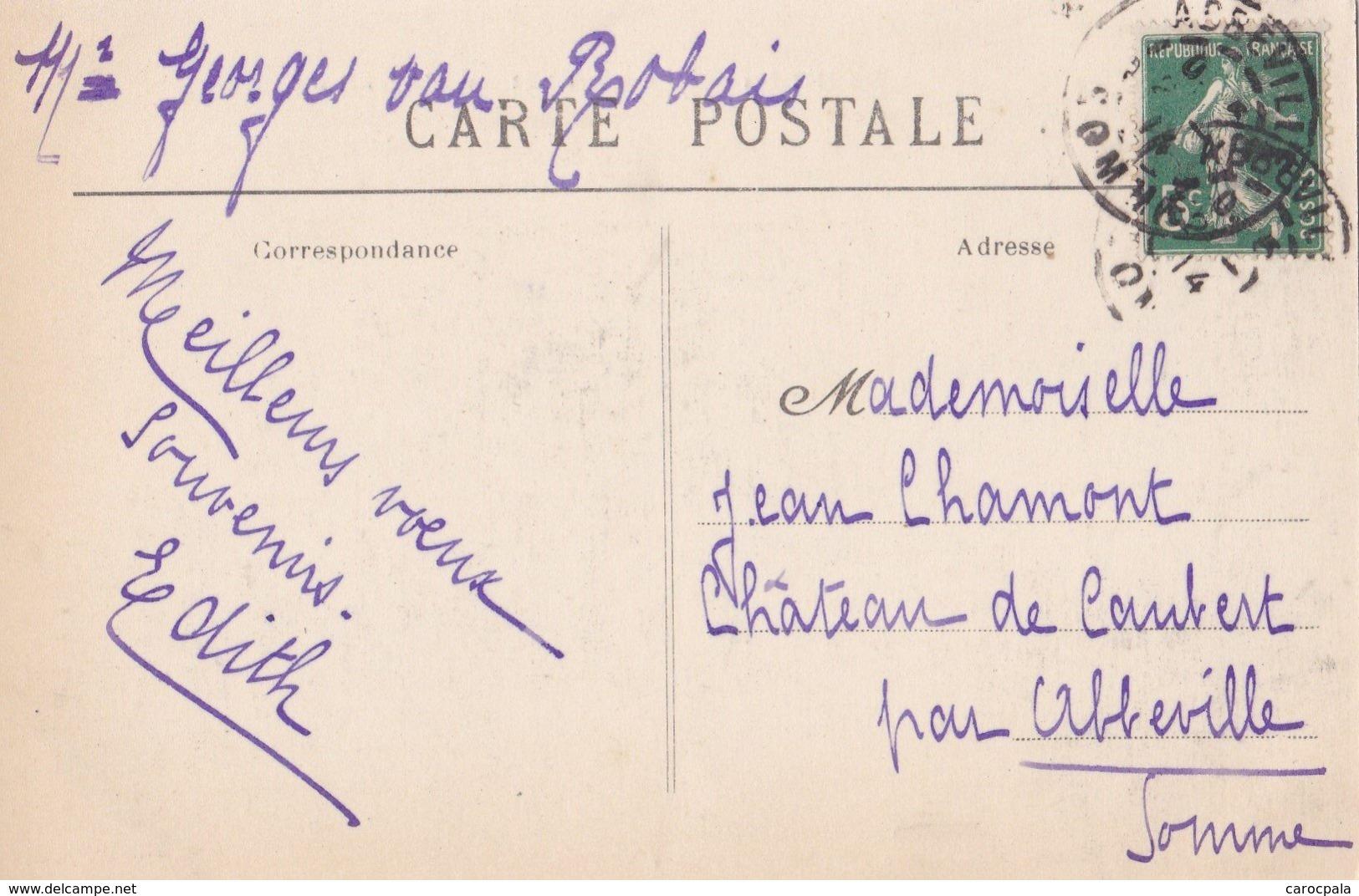 Carte 1910 PIHEN / CHATEAU D'ALENTHUN - Autres Communes