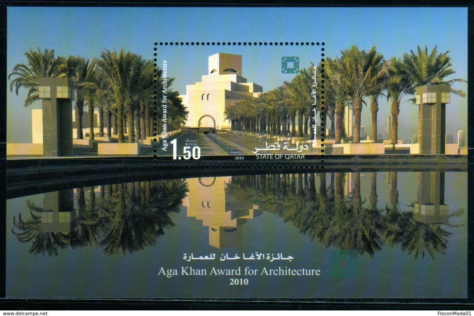 Qatar 2010 Doha Museum / Architect Pei / Aga Khan Award / Architecture Bloc N° 67 MNH Neuf - Qatar