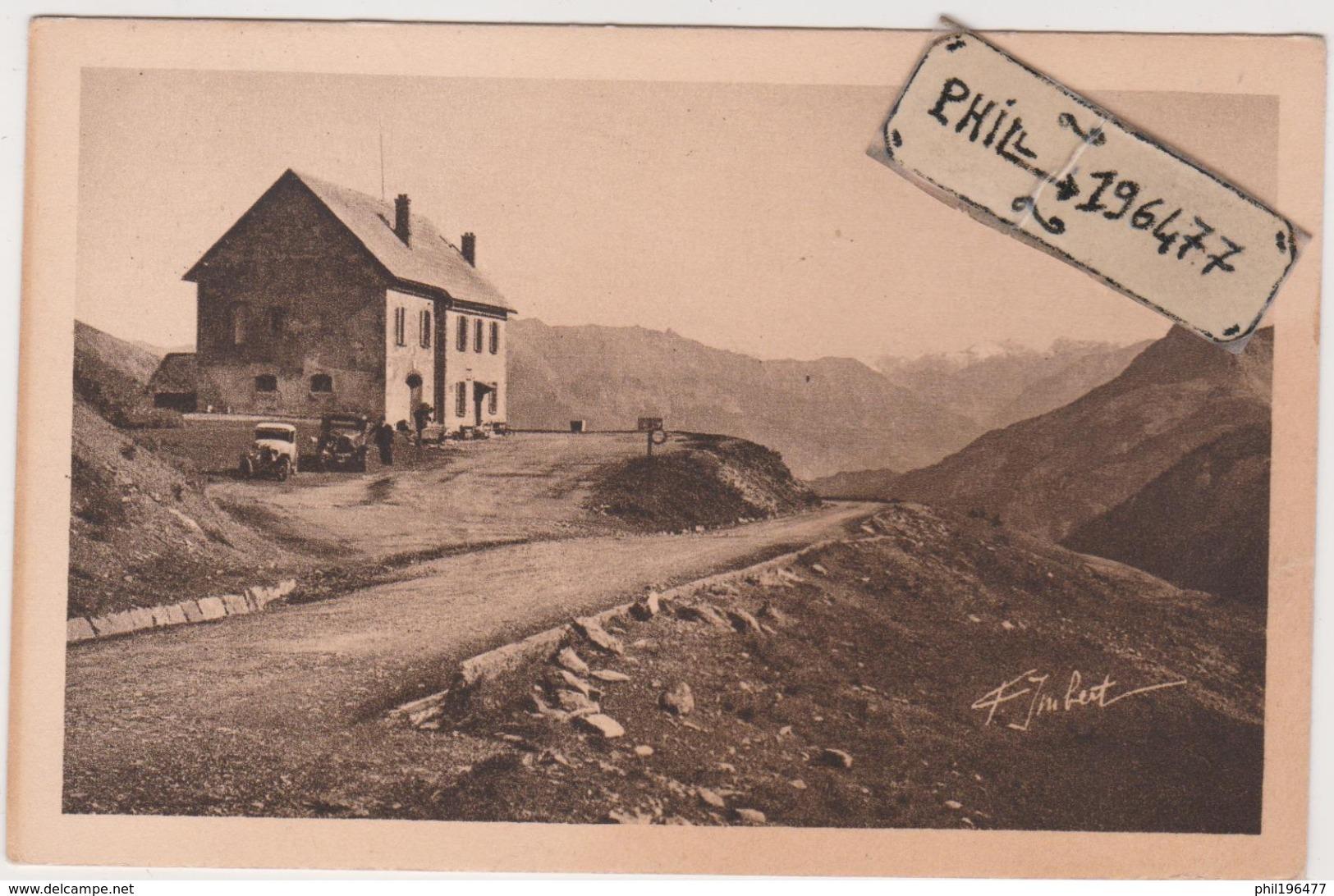 04 Refuge Du Col D'Allos - Cpa / Vue. - Francia