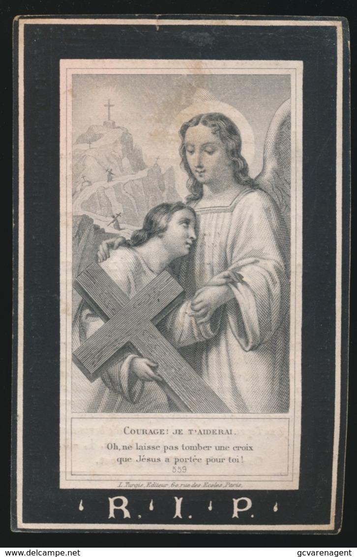 JACOBUS KUPPERS  - ERKELENZ 1799 ROERMOND 1868   2 AFBEELDINGEN - Overlijden