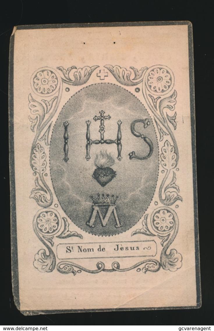 JOANNA PEURTENERS - ROOSTEREN - 1840  54 JAAR OUD    2 AFBEELDINGEN - Overlijden