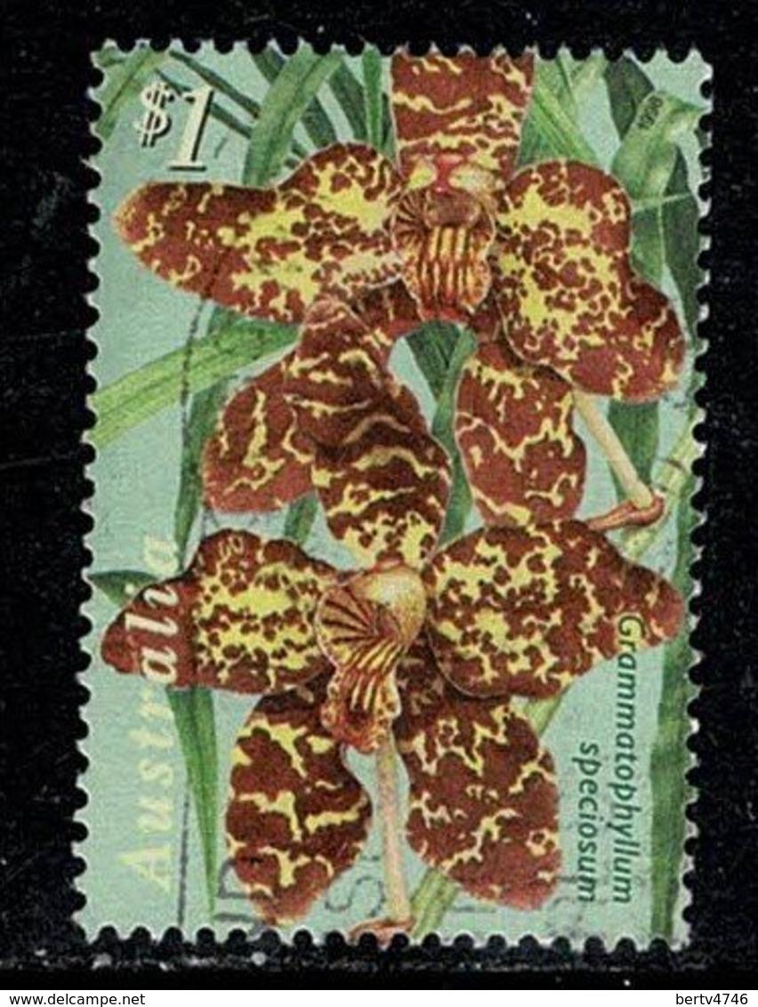 Australie  1998 Orchids  1 $ (o) Used - 1990-99 Elizabeth II