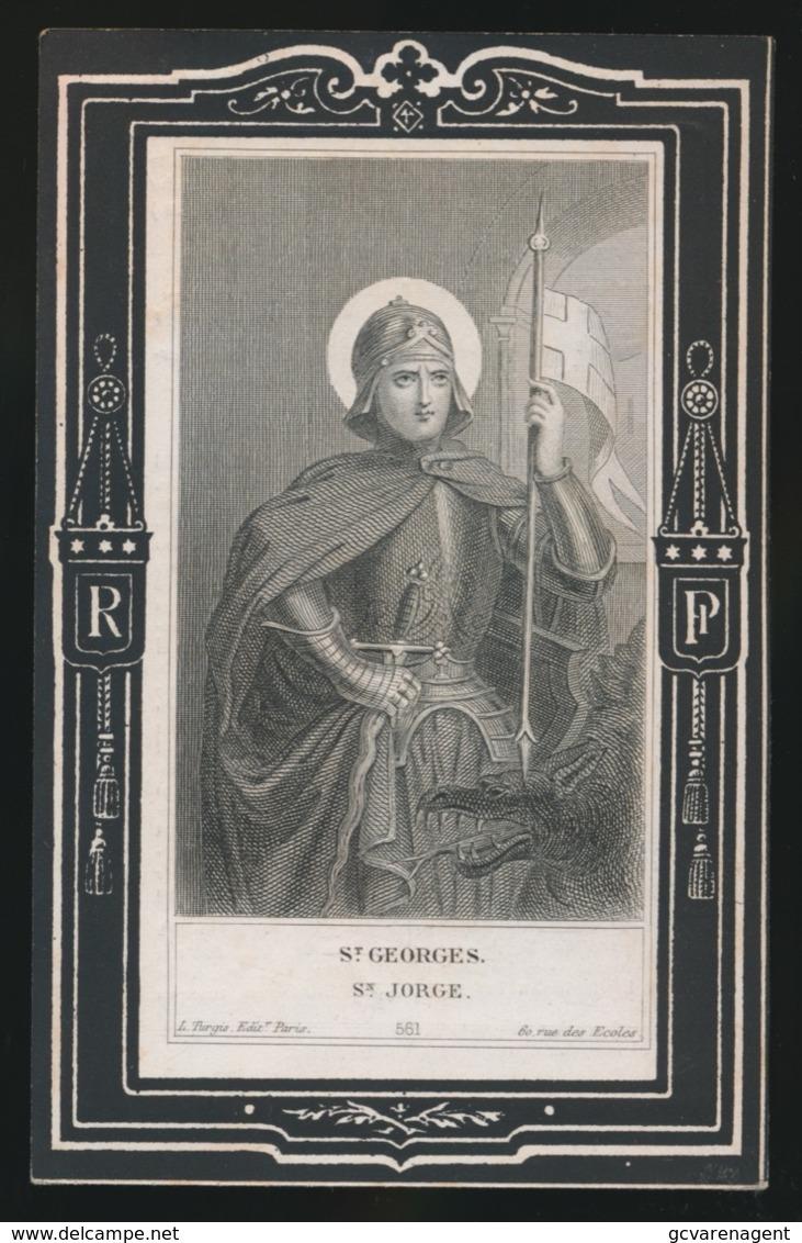 ST. GEORGES - ADEL - MARIA GERTRUDIS Van  EYGEN - ROOSTEREN 1822 - 1880   2 AFBEELDINGEN - Overlijden