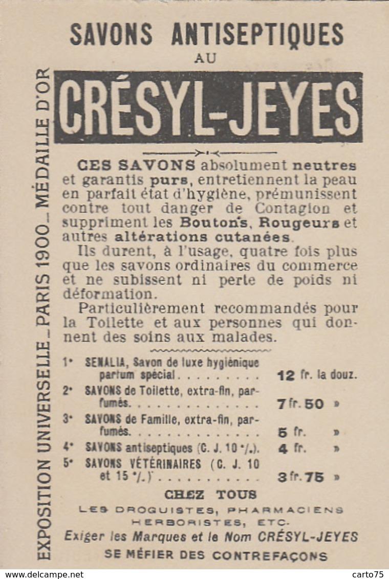 Poste Et Facteurs - Brésil - Chromo - Facteur - Publicité Crésyl-Jeyes Savon - Poste & Facteurs