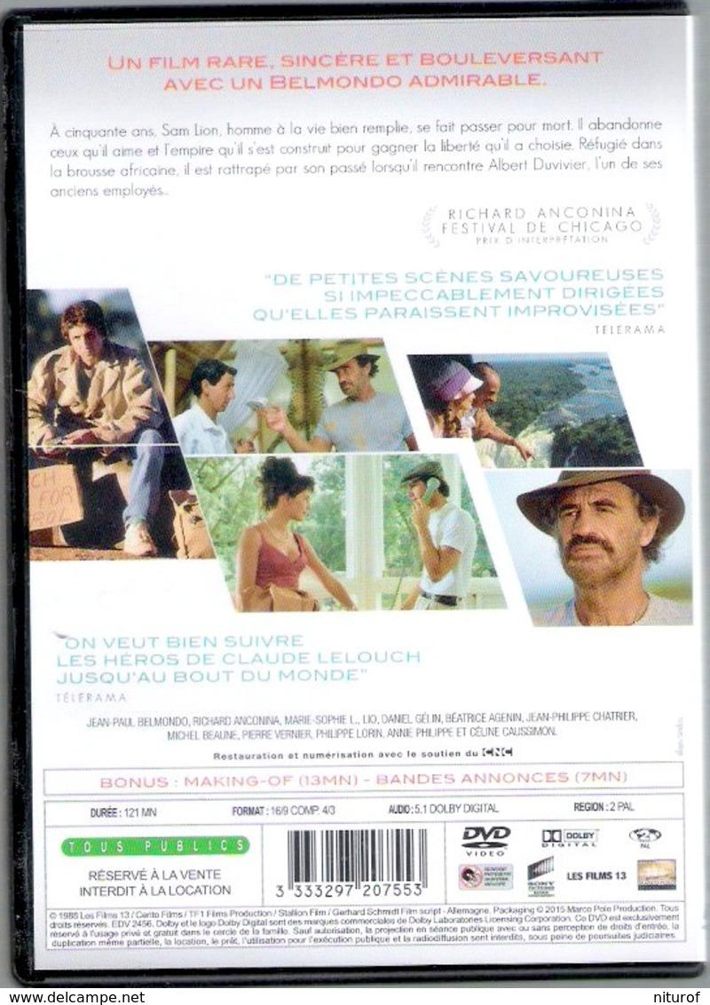DVD Claude LELOUCH : Itinéraire D'un Enfant Gâté - Avec Belmondo Et Anconina - Komedie