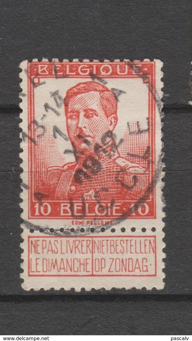 COB 111 Oblitération Centrale UCCLE - UKKEL 1A - 1912 Pellens