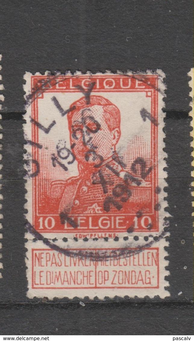 COB 111 Oblitération Centrale GILLY 1 - 1912 Pellens