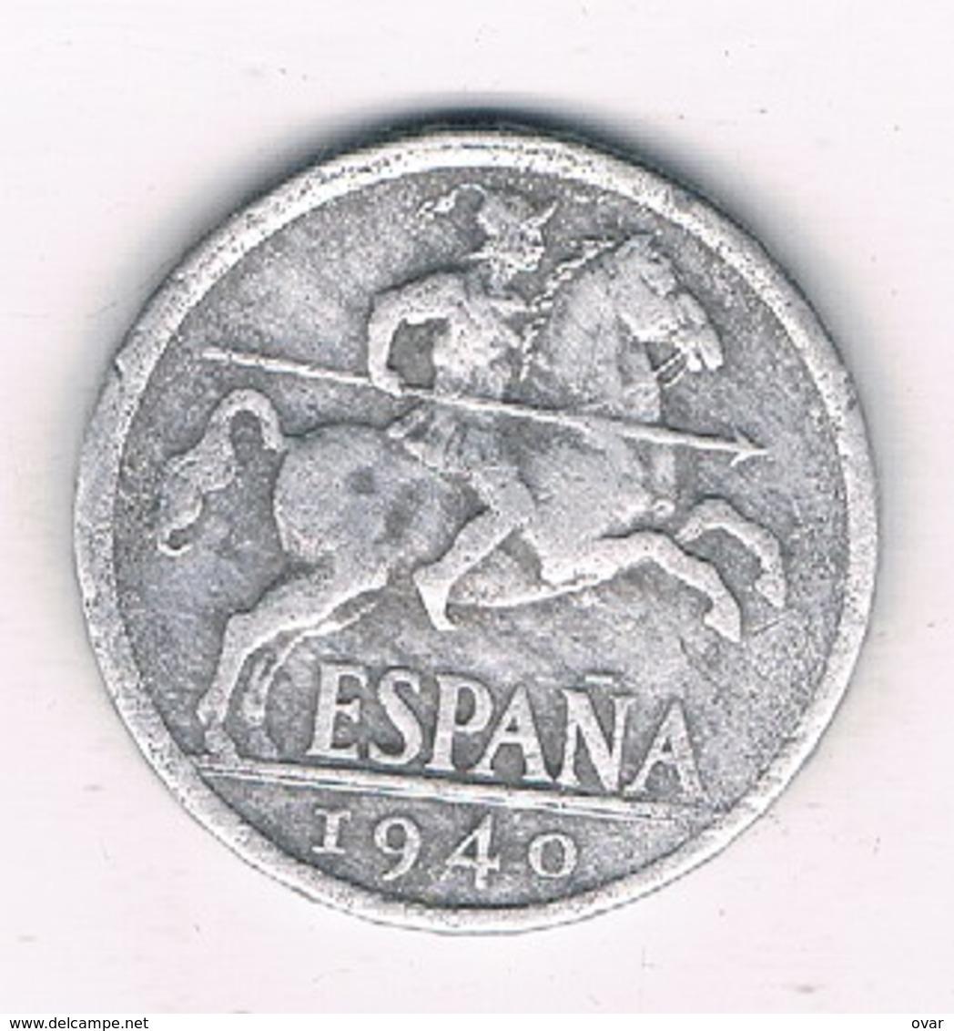10 CENTIMOS 1940 SPANJE /8575/ - 10 Centimos