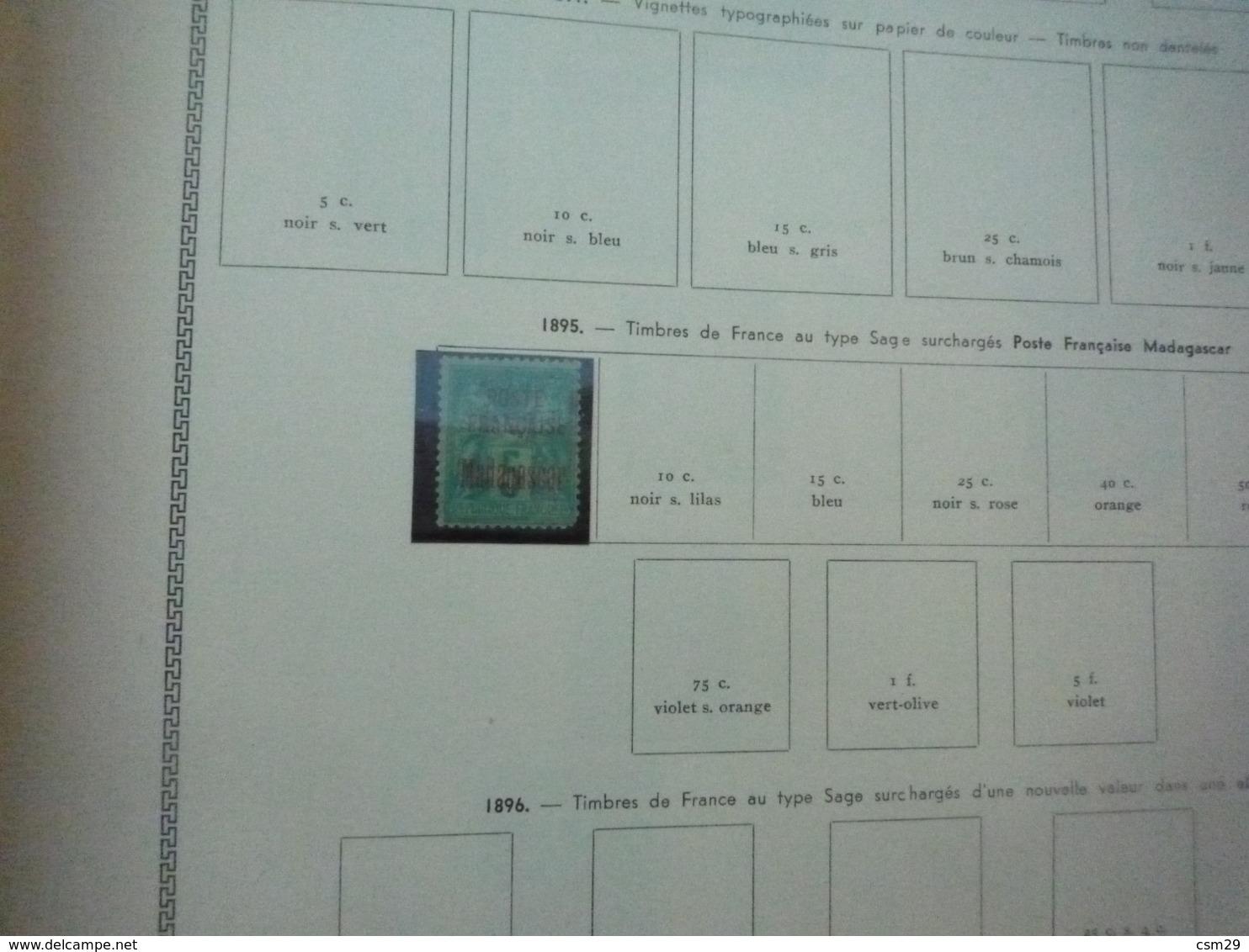 Collection En Album Colonies Françaises  Indochine à Mong-Tzeu - A Compléter -  68 Scans - Collections (with Albums)