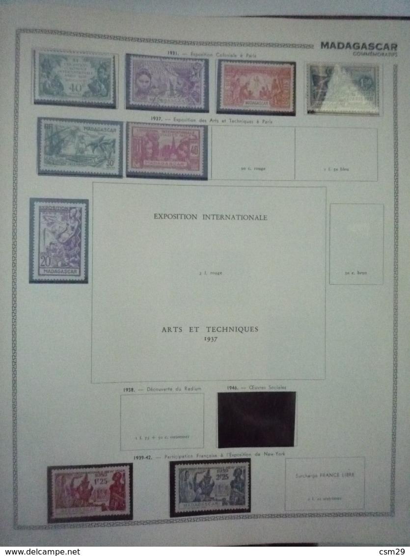 Collection En Album Colonies Françaises  Indochine à Mong-Tzeu - A Compléter -  68 Scans - Timbres