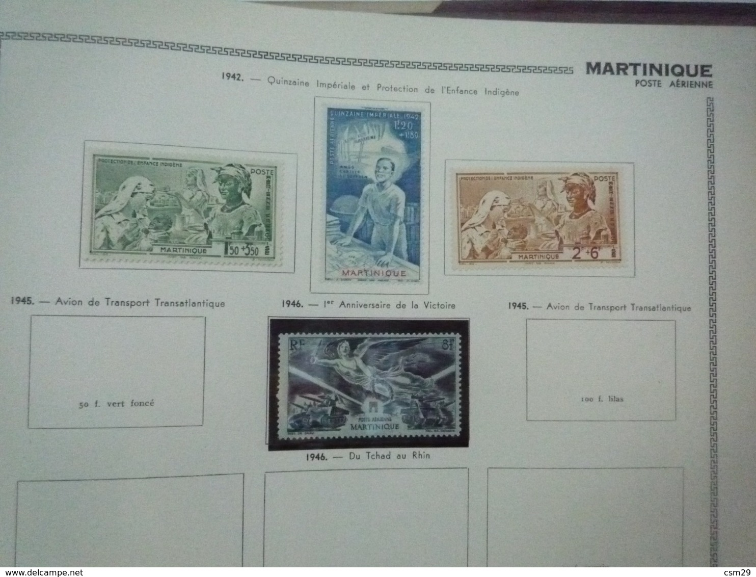 Collection En Album Colonies Françaises  Indochine à Mong-Tzeu - A Compléter -  68 Scans - Stamps