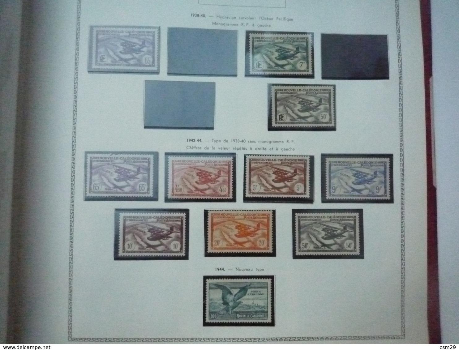 Collection En Album Colonies Françaises  Niger à Ile De Rouad - A Compléter -  56 Scans - Stamps