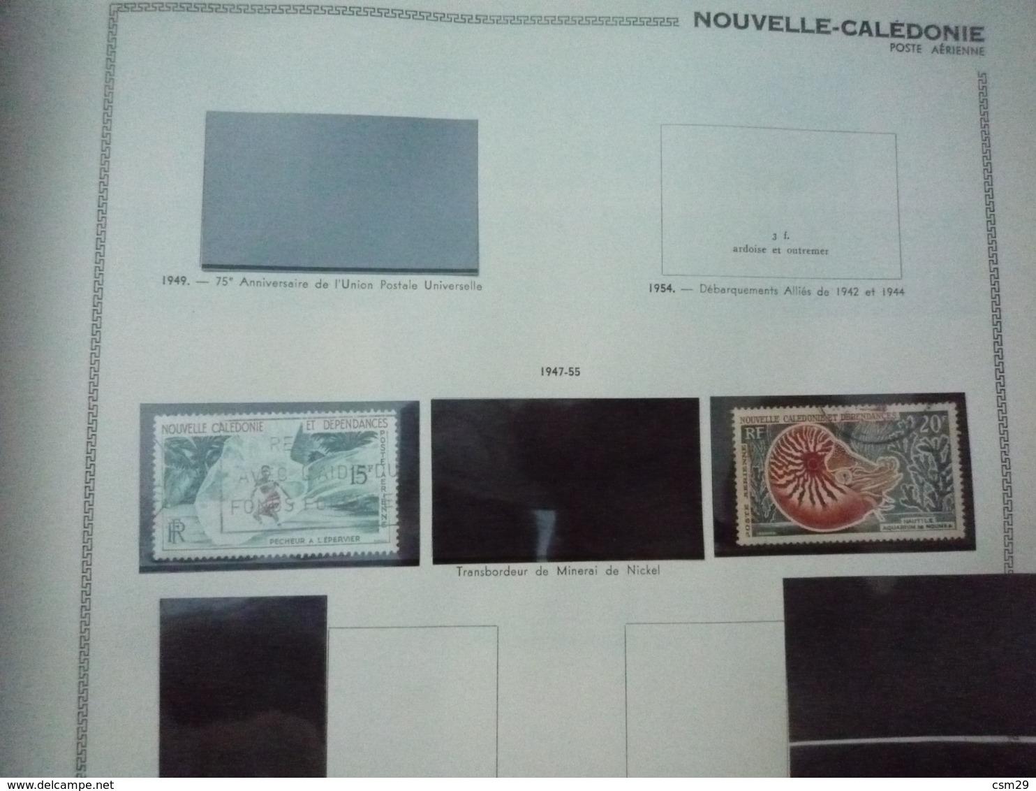 Collection En Album Colonies Françaises  Niger à Ile De Rouad - A Compléter -  56 Scans - Timbres