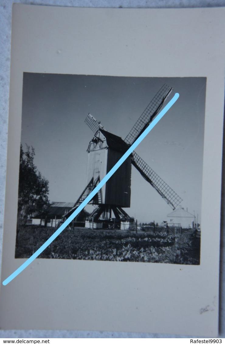 Photo MOLEN Moulin Mühle Belgium Belgïe - Lieux