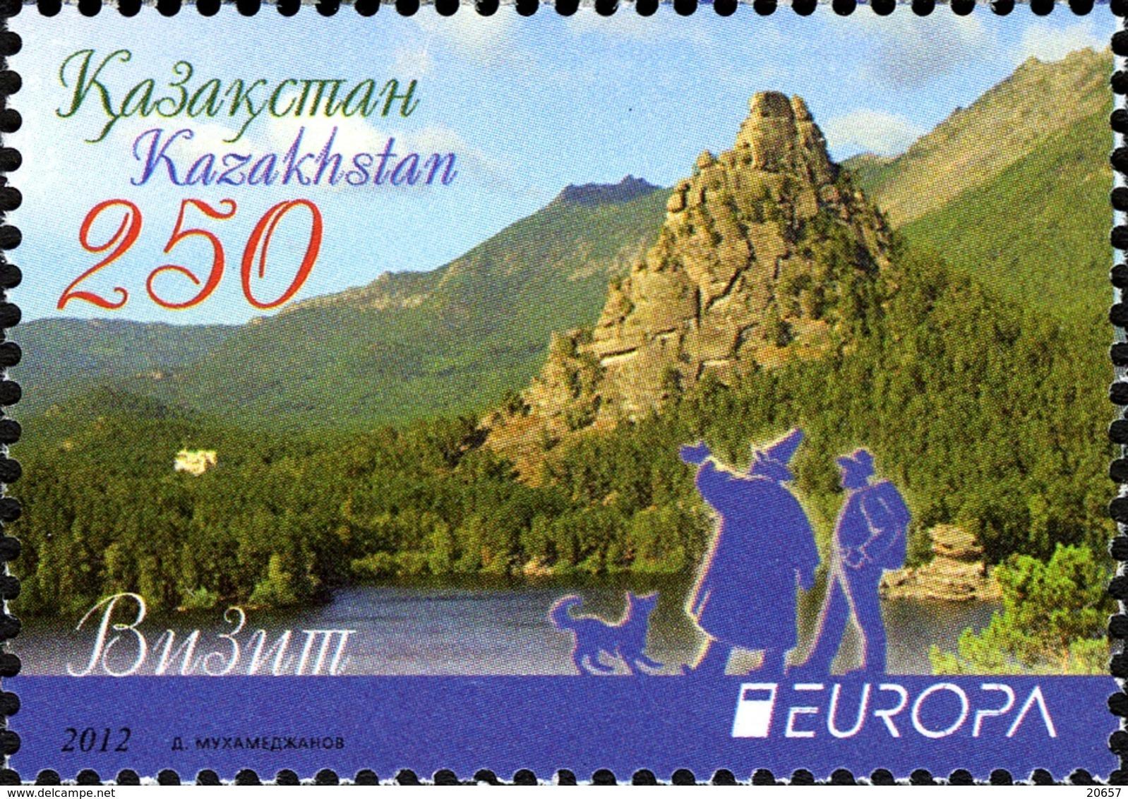 KAZAKHSTAN 0638 Europa , Tourisme , Chien - Europa-CEPT
