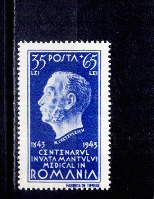 Roumanie 1943 - Yv.no.760 Neufs** - Dr.N.Cretzulescu(d) - Medicina